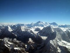 Everest mountain flight by <b>Bob Witlox</b> ( a Panoramio image )