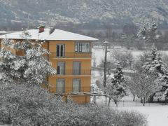 Yellow House 1 by <b>Ahmet Bekir</b> ( a Panoramio image )