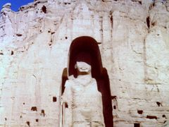 Buddha of Bamiyan, 1972 by <b>Elios Amati (tashimelampo)</b> ( a Panoramio image )