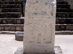ESTELA ESTRUCTURA IV, CALAKMUL, CAMPECHE by <b>Ismael Rangel G?mez</b> ( a Panoramio image )