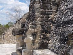 MASCARON ESTRUCTURA II, CALAKMUL, CAMPECHE by <b>Ismael Rangel G?mez</b> ( a Panoramio image )