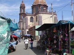 Cojumatlan Michoacan, Templo del Senor del Perdon by <b>salcampos3301</b> ( a Panoramio image )
