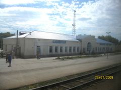 Kazakhstan railroad station by <b>Anuar T</b> ( a Panoramio image )