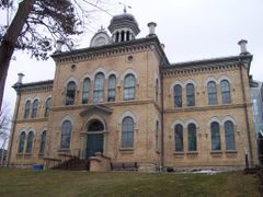 Brampton - old Court House - Peel Heritage Complex by <b>stabins</b> ( a Panoramio image )