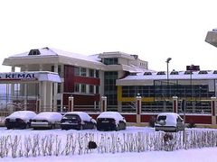 Yahya Kemal college in snow by <b>Ahmet Bekir</b> ( a Panoramio image )