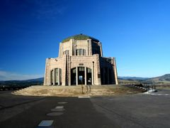 The Vista House at Crown Point, Columbia River Gorge Oregon by <b>© Michael Hatten http://www.sacred-earth-studios.com</b> ( a Panoramio image )