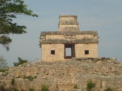 Templo de las 7 Munecas, Dzibilchaltun, Yucatan by <b>zuzanet</b> ( a Panoramio image )
