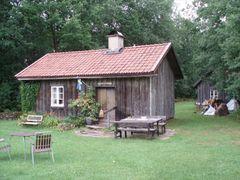 Hembygdsstuga, Hov (2008) by <b>Biketommy</b> ( a Panoramio image )