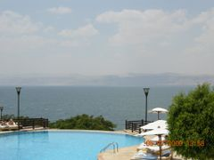 Infinity View Through The Dead Sea To Great Pristine. by <b>zabalawi55</b> ( a Panoramio image )
