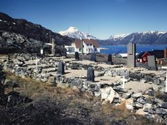 The cemetery, summer 1986 by <b>Peltsari</b> ( a Panoramio image )