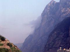 Xiling Gorge, Yangtze River, PRC - 1983 by <b>Ian Stehbens</b> ( a Panoramio image )