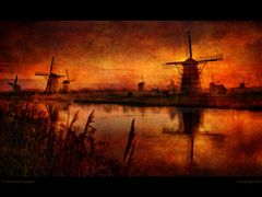 Kinderdijk from the past by <b>Edward Galagan</b> ( a Panoramio image )