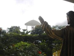 A view from the Church in direction of the standing Buddha Statu by <b>jmsbandara</b> ( a Panoramio image )