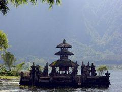 Bali : Pura Ulun Danu Bratan : Overhanging Bamboo by <b>Peter Connolly</b> ( a Panoramio image )