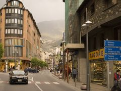 Andorra centre by <b>Ruben Silva</b> ( a Panoramio image )