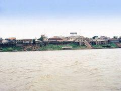 Nong Khai, Thailand River Crossing - 1973 by <b>Gene Whitmer</b> ( a Panoramio image )