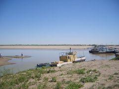 Crossing the Amu Darya (Oxus) by <b>gswatson</b> ( a Panoramio image )