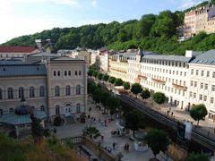 Karlovy Vary  CZ by <b>galitsos</b> ( a Panoramio image )