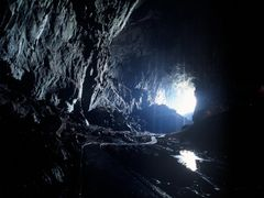 Deer Cave mouth Mulu NP by <b>JohnMacdonald</b> ( a Panoramio image )