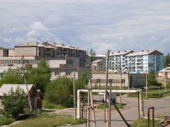 Вид с 4-го этажа дом №7 by <b>Evgen_Rodionov</b> ( a Panoramio image )