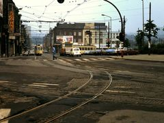 Trams SNCV (june 1980) by <b>bertgort</b> ( a Panoramio image )