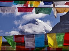 Prayers to the Holy Mount Kailash by <b>Dottor Topy</b> ( a Panoramio image )