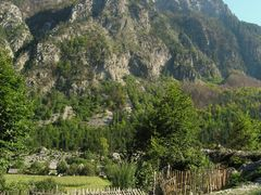 Hidden farm in Valbona valley by <b>Tomas K?h?ut</b> ( a Panoramio image )