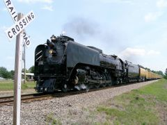 Union Pacific 844 by <b>Geezer Vz</b> ( a Panoramio image )