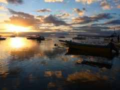 Where the sea meets the heavens above... (Alona Beach, Panglao I by <b>Luc Valencia</b> ( a Panoramio image )