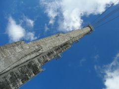 Support tower for the Arecibo Radio Telescope by <b>geocheb</b> ( a Panoramio image )