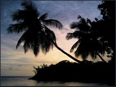 Mahe - Seychelles at Nightfall  by <b>uni*</b> ( a Panoramio image )