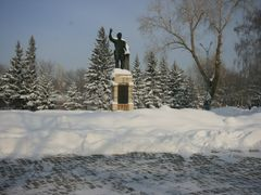 Kirov Monument, winter 2009 by <b>Egil Orndal</b> ( a Panoramio image )