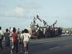 Manifestacion de Juventud 6 by <b>Hans Hartings</b> ( a Panoramio image )