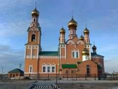 Ortodox Church in Atyrau by <b>Mike Karavanov</b> ( a Panoramio image )