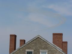 Aircraft in the background over the roof of this building by <b>ravind</b> ( a Panoramio image )