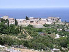 Monastery Megistis Lavras by <b>Ron van Gog</b> ( a Panoramio image )
