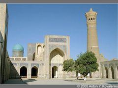 Bukhara, Kalyan mosque and minaret by <b>Anton Kovalenko</b> ( a Panoramio image )