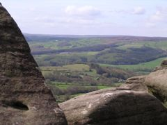 View of Nidderdale from Brimham Rocks by <b>Strayman</b> ( a Panoramio image )