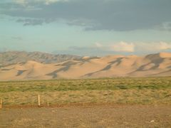 khongoryn els, tramonto by <b>francesco celso</b> ( a Panoramio image )