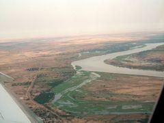 """Vue sur l""""Oubangui a Bangui by <b>courtoism</b> ( a Panoramio image )"""