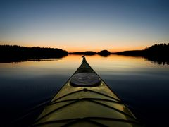 Kayaking on Lake Saimaa by <b>Sampo Kiviniemi</b> ( a Panoramio image )