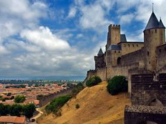 Carcassonne by <b>Finn Lyngesen flfoto.dk</b> ( a Panoramio image )