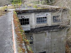 Jordan River Powerhouse roof, 2010 by <b>Andrew Sutherland</b> ( a Panoramio image )