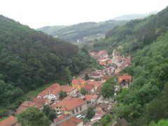 Karlstein Village by <b>Oram</b> ( a Panoramio image )