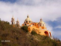 Iglesia Virgen los Remedios Cholula Puebla By Mel Figueroa by <b>Mel Figueroa</b> ( a Panoramio image )