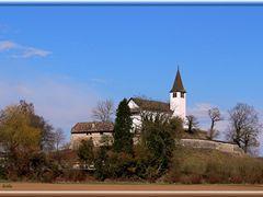 Die Bergkirche  St. Michael  in Busingen am Hochrhein by <b>herba</b> ( a Panoramio image )
