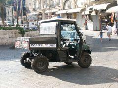 Polis monster, Yerushalayim, Israel by <b>Kiyanovsky Dmitry</b> ( a Panoramio image )
