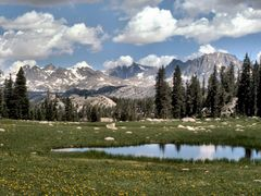Pond-BridgerWilderness by <b>Don Burrows</b> ( a Panoramio image )