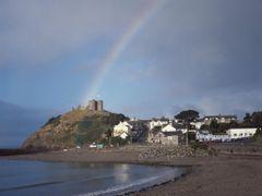 Rainbow over Criccieth by <b>Matthew Winn</b> ( a Panoramio image )