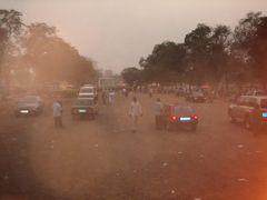 Arrivee a Bangui capitale.La circulation (Rca) by <b>courtoism</b> ( a Panoramio image )